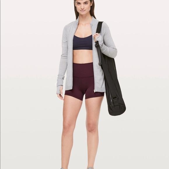 "lululemon athletica Pants - Lululemon Align shorts 4"" in red print"